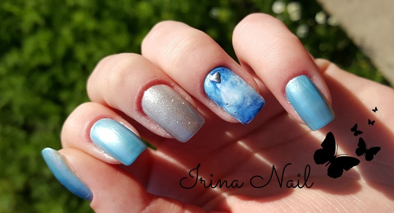 Quick and easy to manicure | Irina Nail  nail art by Irina Nail