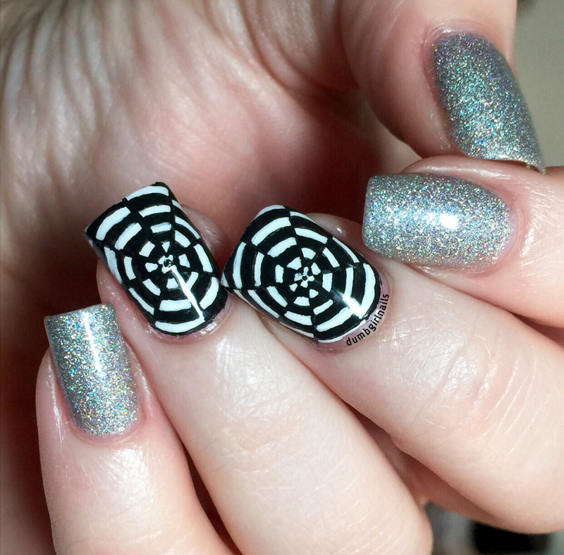 Illusions nail art by Michelle