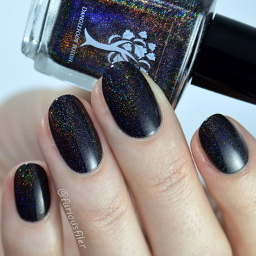 Danglefoot Nail Polish Higitis Figitis Swatch by Furious Filer