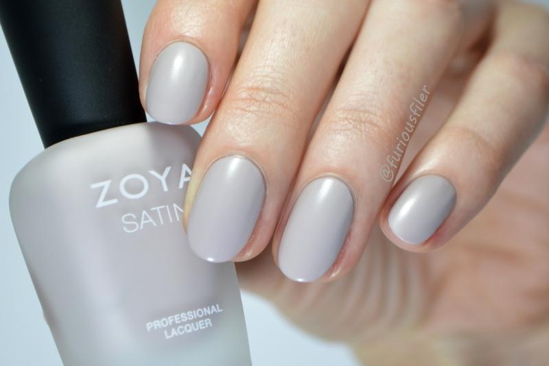 Zoya Leah Swatch by Furious Filer