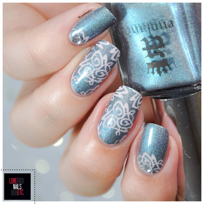 Celtic Style nail art by Love Nails Etc
