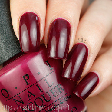 OPI In the Cable Car-Pool Lane Swatch by Yue