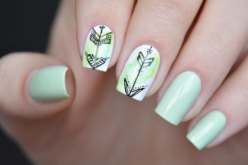 blureefect nail art by bopp