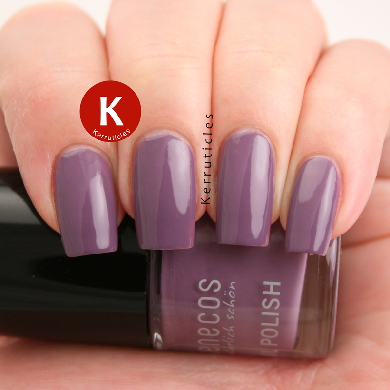 benecos French Lavender Swatch by Claire Kerr