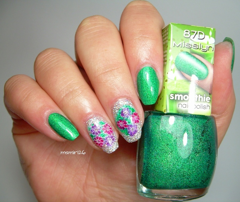 Spring Nails nail art by msmiri26