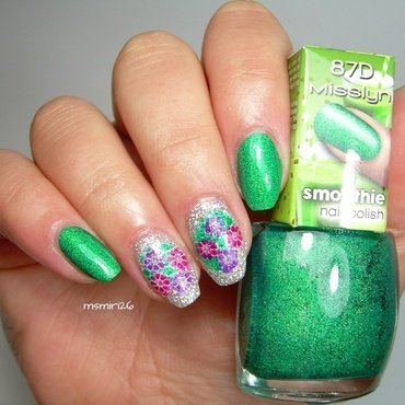 Spring Nails nail art by msmiri26