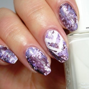 Splatter Nails nail art by msmiri26