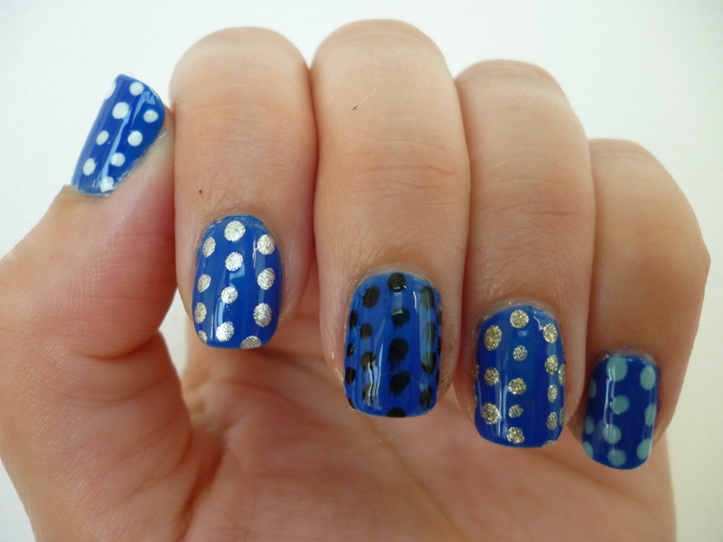 Naughty Nautical nail art by velinux