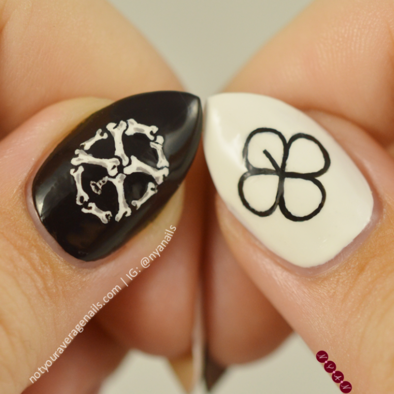 Ex\'act nail art by Becca (nyanails) - Nailpolis: Museum of Nail Art