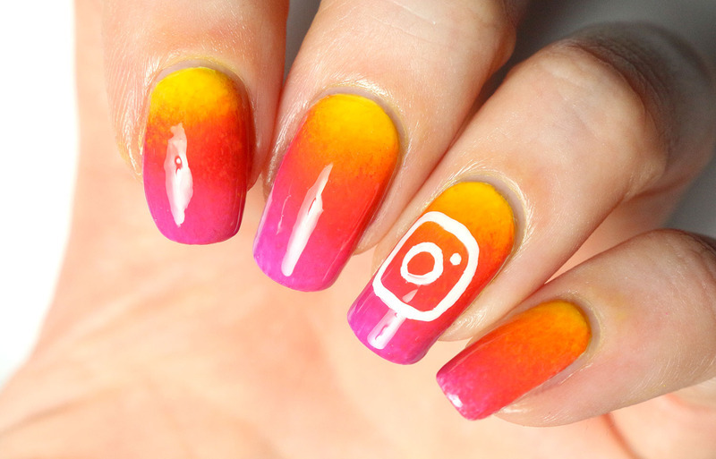 Instagram nail art nail art by Tribulons