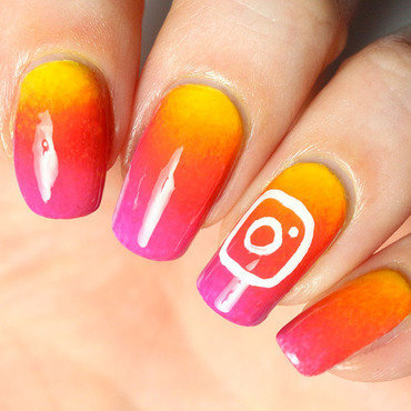 Instagram nail art nail art by Tribulons