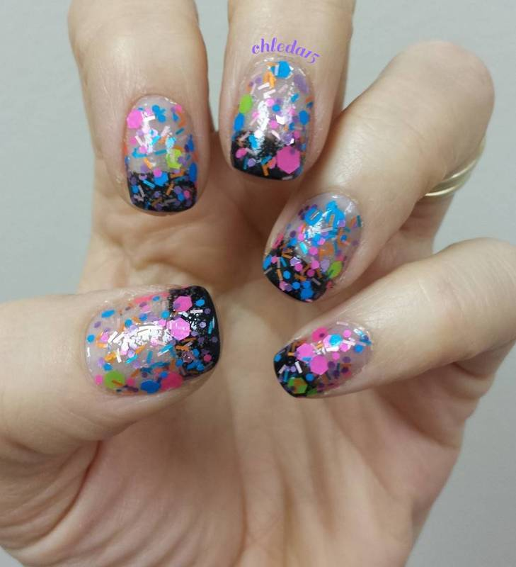 Celebrate Good Times (Come On!) nail art by chleda15