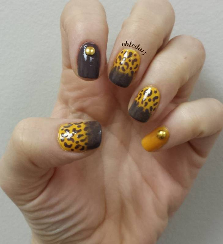 Cheetara nail art by chleda15