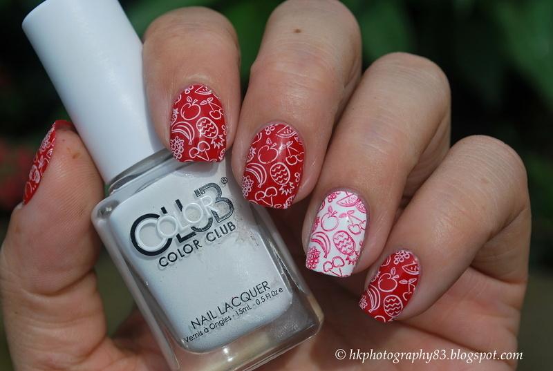 Fruit nails nail art by Hana K.