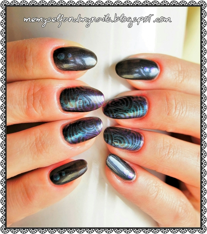 Black Lagoon nail art by ELIZA OK-W