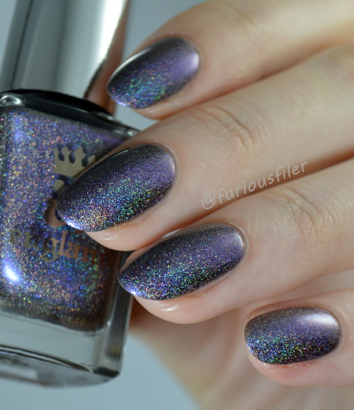 A England Waltz of the Flowers Swatch by Furious Filer