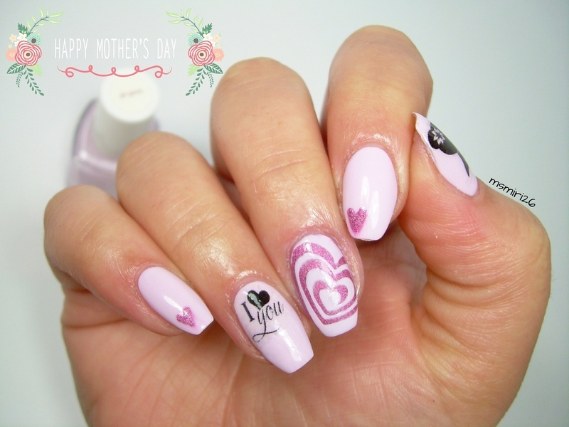 Mother's Day Nailart nail art by msmiri26