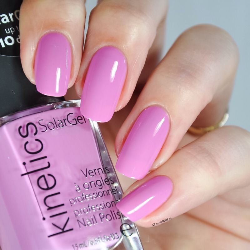 Kinetics Nails Lost in Copacabana Swatch by Love Nails Etc