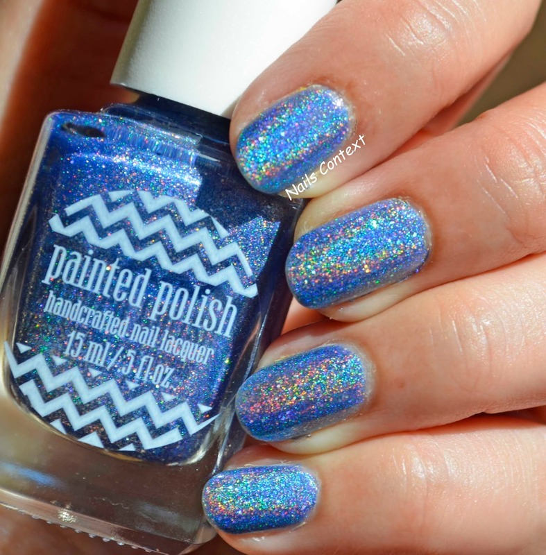 Painted Polish Sweet & Serene Swatch by NailsContext