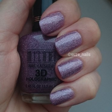 Milani 3D Holographic Hi-Res Swatch by Suze Nails