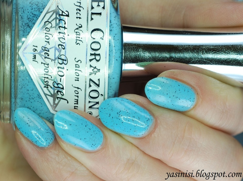 El Corazon Pebbles on the Sea Swatch by Yasinisi