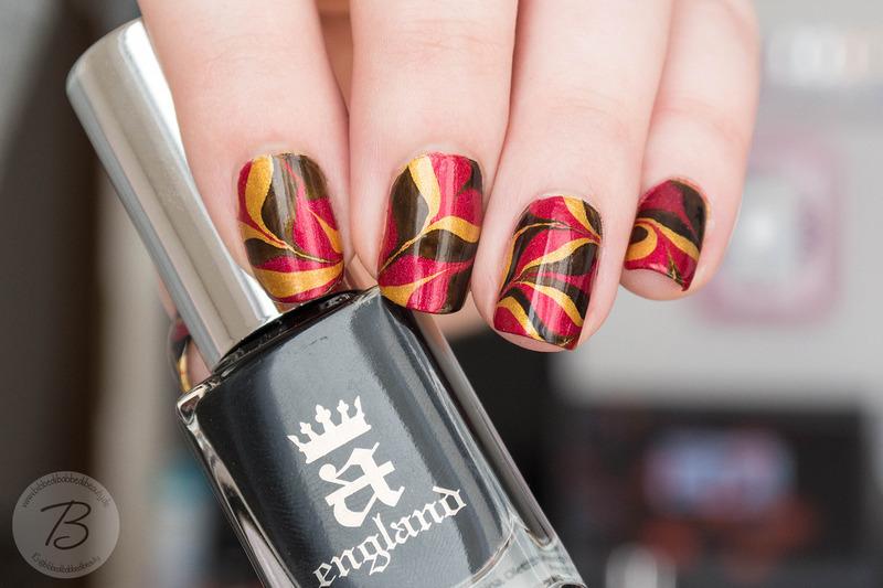 Euro 2016 - Germany nail art by Kathrin