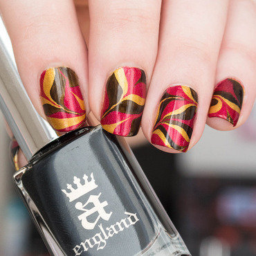 Euro 2016 - Germany nail art by Kathrin
