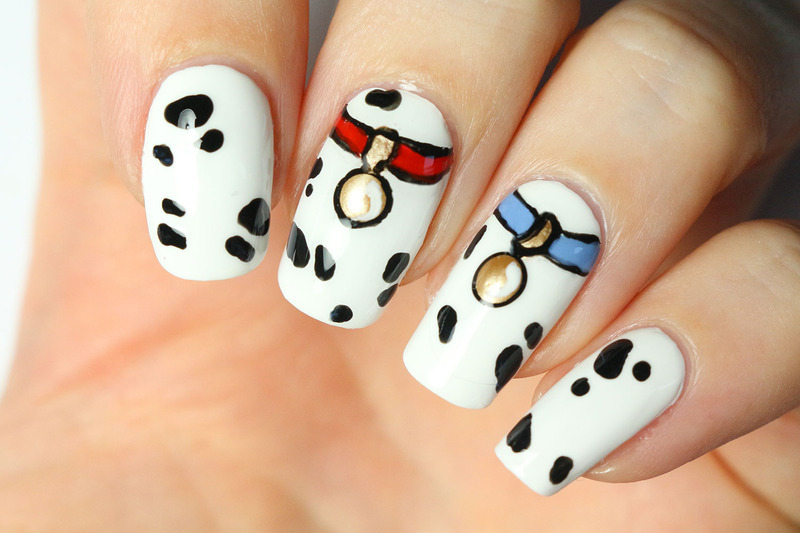 101 dalmatians nail art by Tribulons