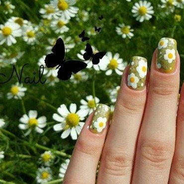 Chamomile Flowers | Irina Nail  nail art by Irina Nail