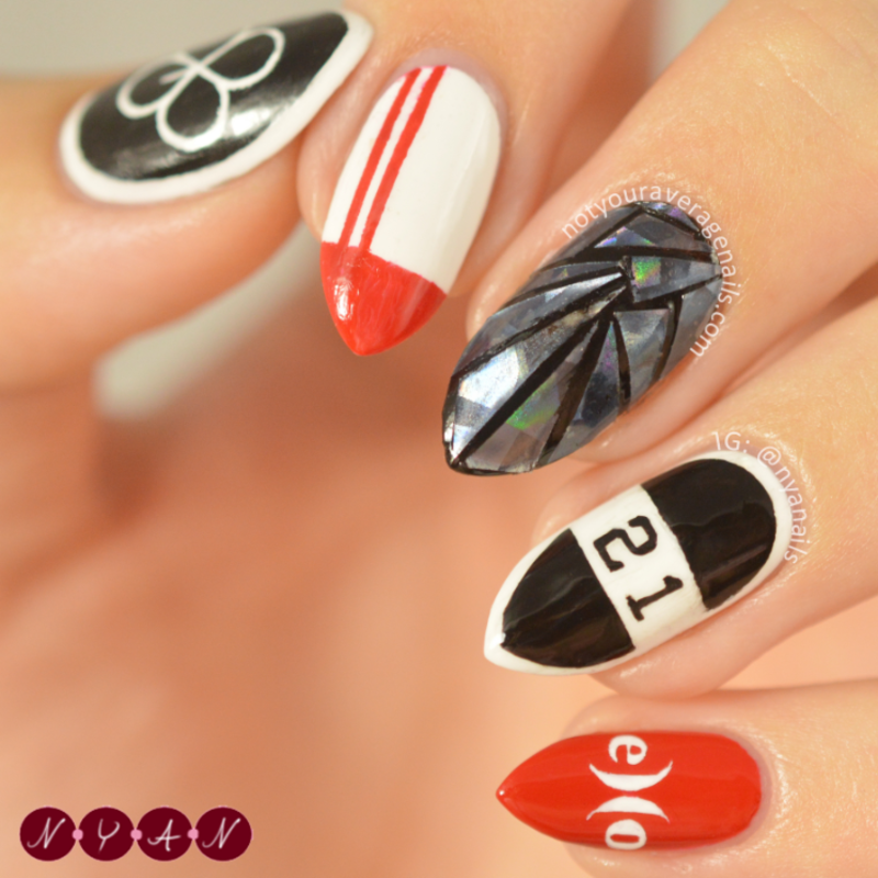 Lucky One nail art by Becca (nyanails) - Nailpolis: Museum of Nail Art