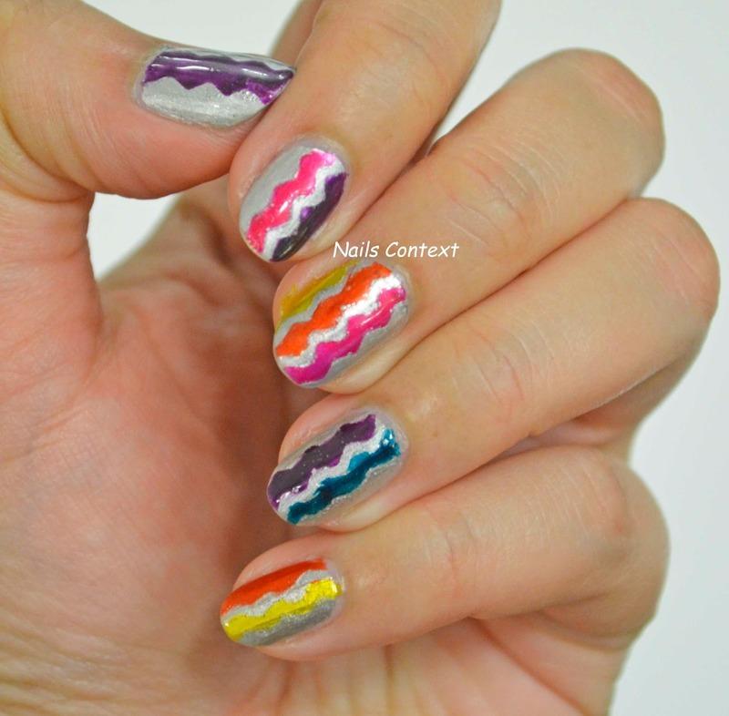 OPI Paints nail art by NailsContext