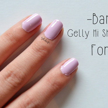 Barry M Fondant Swatch by Tyler Leigh