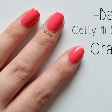 Barry M Grapefruit Swatch by Tyler Leigh