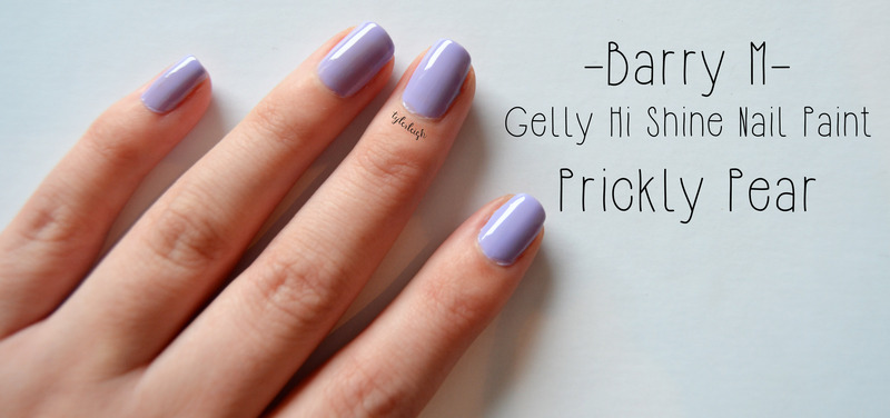 Barry M Prickly Pear Swatch by Tyler Leigh