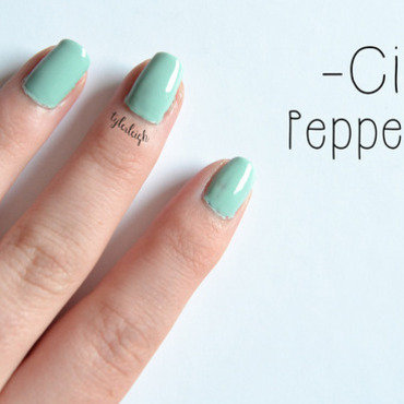 Ciaté Pepperminty Swatch by Tyler Leigh