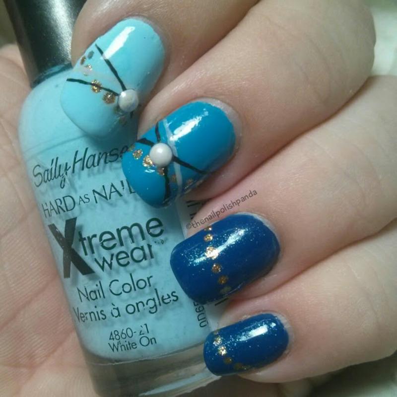 Bracelet nail art by Lynni V.
