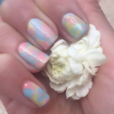 smooshy  nail art by Happy_aries