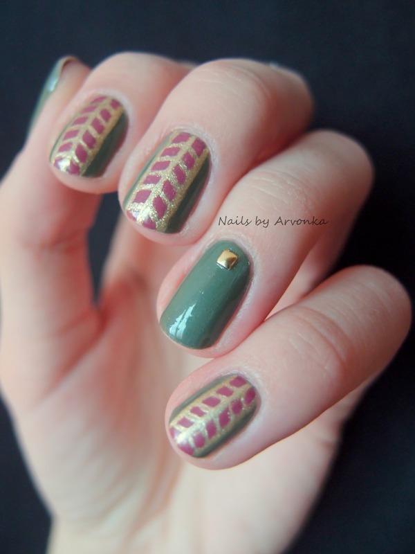 Pneumatics Nail Art nail art by Veronika Sovcikova