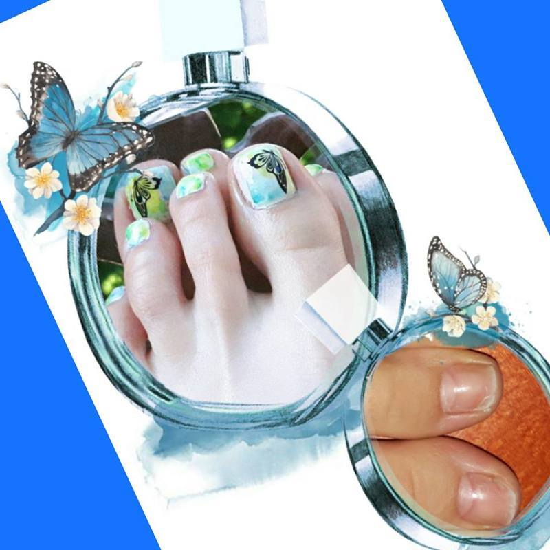 Summer nail art by Ewa EvaNails