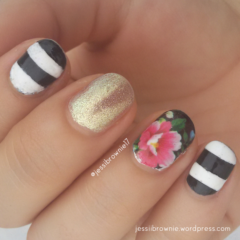 Chic Fleek nail art by Jessi Brownie (Jessi)