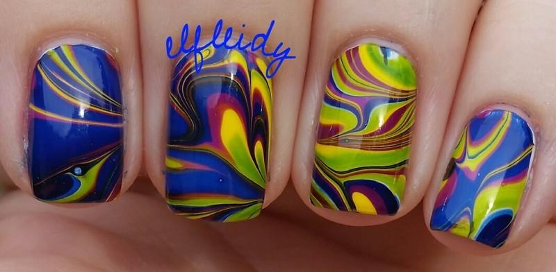 #watermarblepracticewed 06-08-2016 nail art by Jenette Maitland-Tomblin