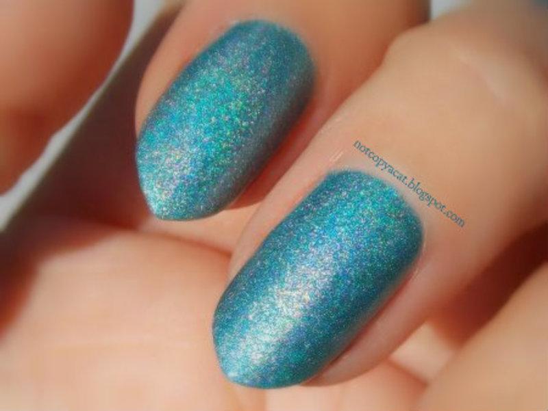 Colour Alike, 601, Blue Bossa swatch - close up by notcopyacat