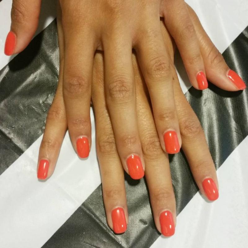 Thrill of Brazil nail art by Kristen Lovett