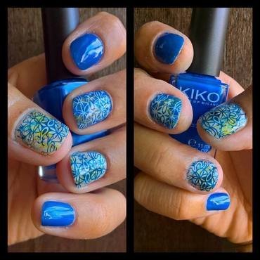 Santos Populares nail art by Avesur Europa