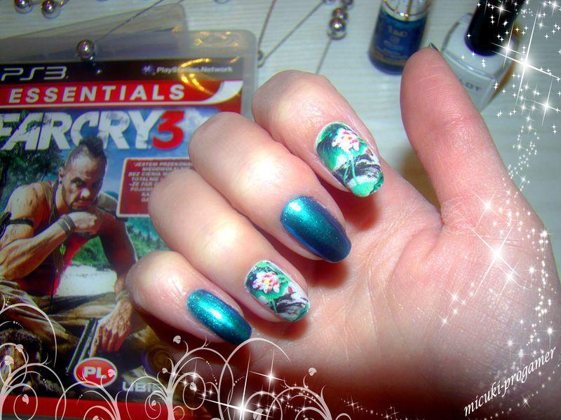 farcrayowe nail art by MICUKI_kasia