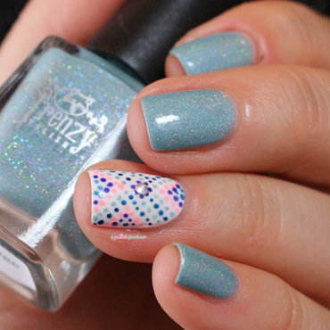 Frenzy 20polish 20mint 20holo 20dots 20nail 20art 201 thumb370f
