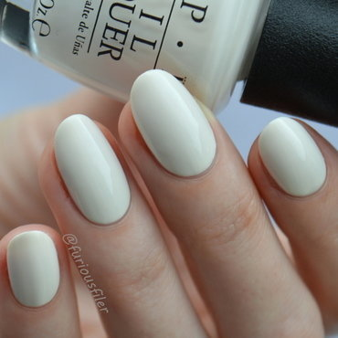 OPI It's in the Cloud Swatch by Furious Filer
