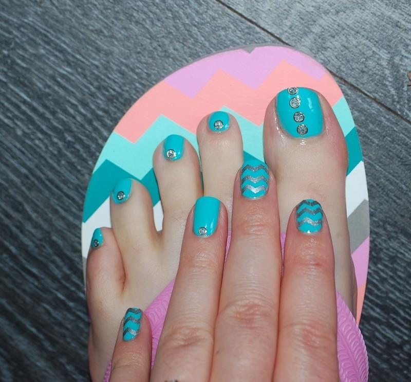 Hand And Feet Association Nail Art By Dorothy Nailassay Nailpolis