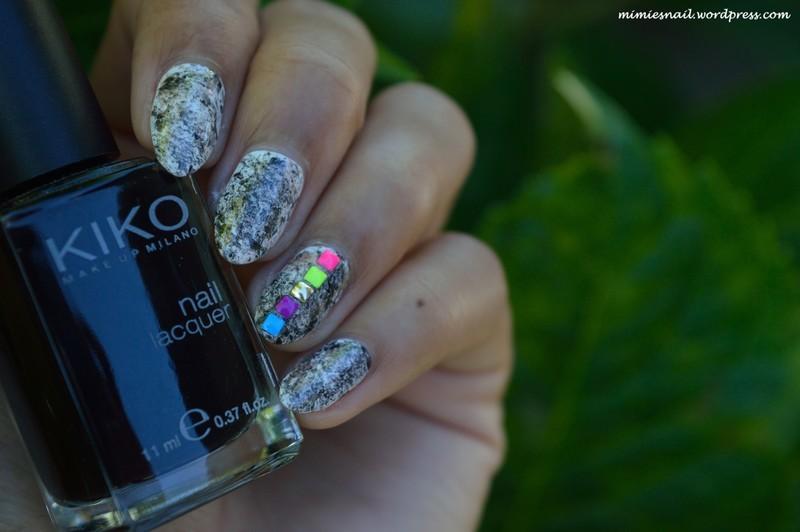 Black and White nail art by MimieS Nail
