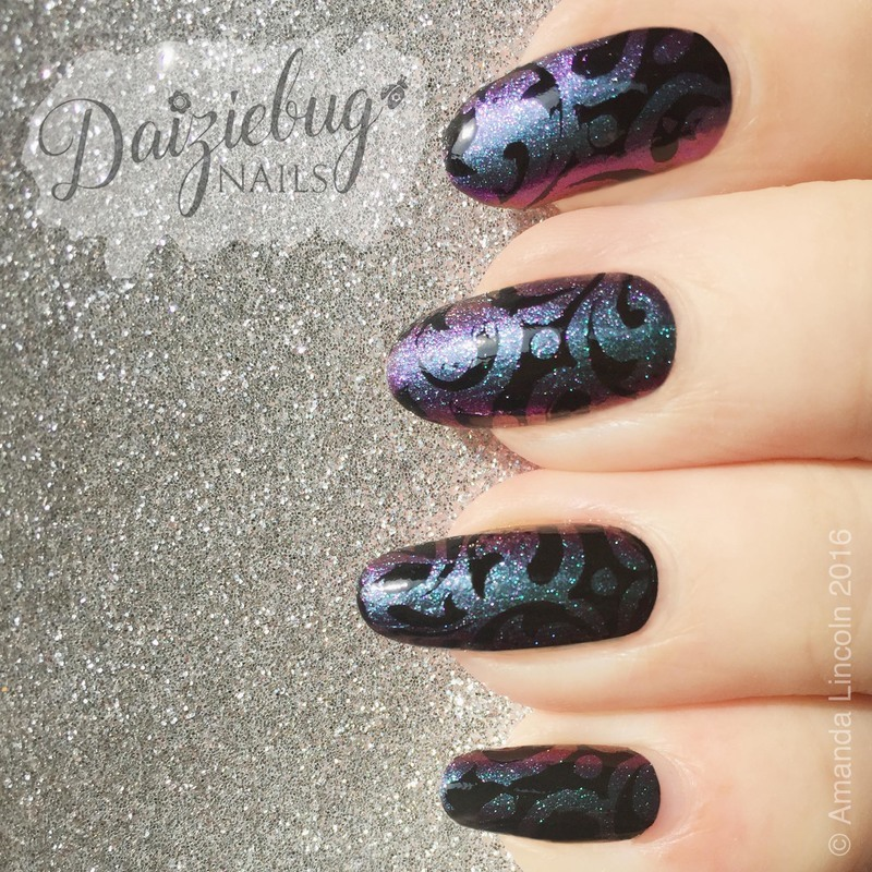 Multi chrome Nail Art nail art by Daiziebug_Nails